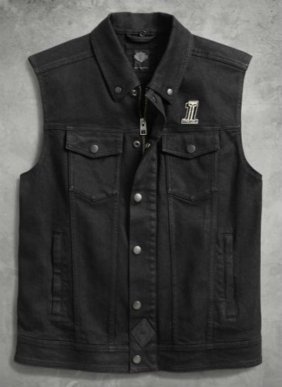 Harley-Davidson Harley Davidson人茄克Men's 3-in-1 Denim Slim Fit Riding Vest新作品哈雷純正正規的物品美國購置USA直接進口郵購