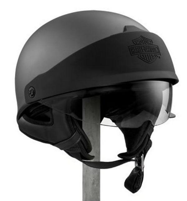 ハーレーダビッドソン Harley Davidsonハーフ ヘルメットRoam Adjastable Fit Profile J06 Half Helmet チャコール 新作 ハーレー純正 正規品 アメリカ買付 USA直輸入 通販