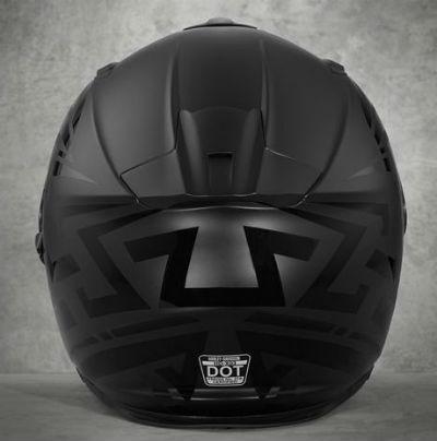 Harley-Davidson Harley Davidson安全帽Men's Frill Airfit Sun Shield X03 Full-Face Helmet黑色新作品哈雷純正正規的物品美國購置USA直接進口郵購