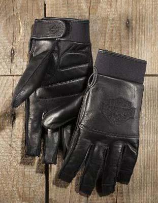 Harley Davidson Harley Davidson globe Men's Value Full-Finger Gloves-2015 new Harley stock genuine American purchase USA imported from store