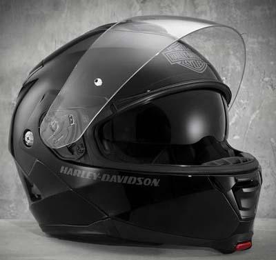 ハーレーダビッドソン Harley Davidsonヘルメット● Men's Capstone SunShield Modular Helmet グロスブラック新作 ハーレー純正 正規品 アメリカ買付 USA直輸入 通販