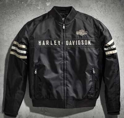 Harley Davidson Harley Davidson 男式夾克男式遺產尼龍夾克 ★ 新 Harley Davidson 真正真正美國購買美國進口從存儲區