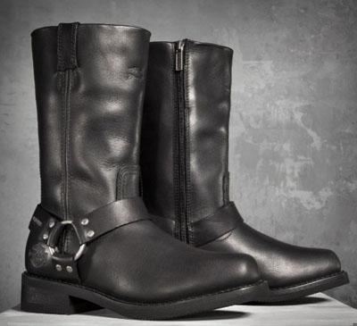 哈雷 · 大衛森哈雷大衛森男士靴子男式 Hustin 防水性能靴子黑色新哈雷-大衛森真正真正美國購買美國進口從存儲區