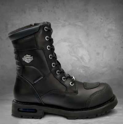 Harley-Davidson Harley Davidson人長筒靴Men's Richfield Waterproof Performance Boots黑色新作品哈雷純正正規的物品美國購置USA直接進口郵購