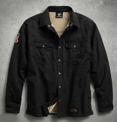 ハーレーダビッドソン Harley Davidsonメンズ ロングスリーブシャツMen's #1 Genuine Classics Shirt Jacketハーレー純正 正規品 アメリカ買付 USA直輸入 通販