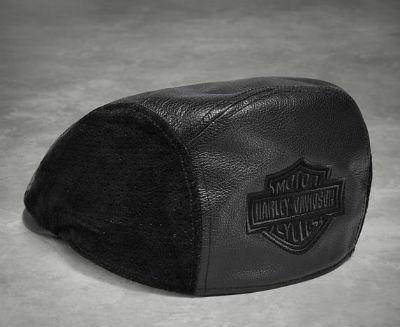 ハーレーダビッドソン Harley DavidsonベースボールキャップMen's Logo Leather Ivy Capハーレー純正 正規品 アメリカ買付 USA直輸入 通販
