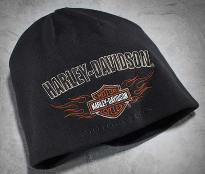 5cb09a234bcb5 Harley Davidson Harley Davidson caps Men s Reversible Flame Knit Hat Harley- Davidson stock genuine American purchase USA imported from store