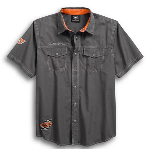 ハーレーダビッドソンメンズ ショートスリーブ シャツHarley Davidson Men's Screamin'Eagle Shirtハーレー純正 正規品 アメリカ買付 USA直輸入 通販