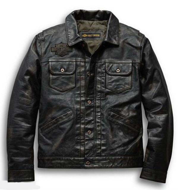 ハーレーダビッドソン Harley Davidson メンズ レザー ジャケットMen's Digger Slim Fit Leather Jacket革ジャン 新作 ハーレー純正 正規品 アメリカ買付 USA直輸入 通販