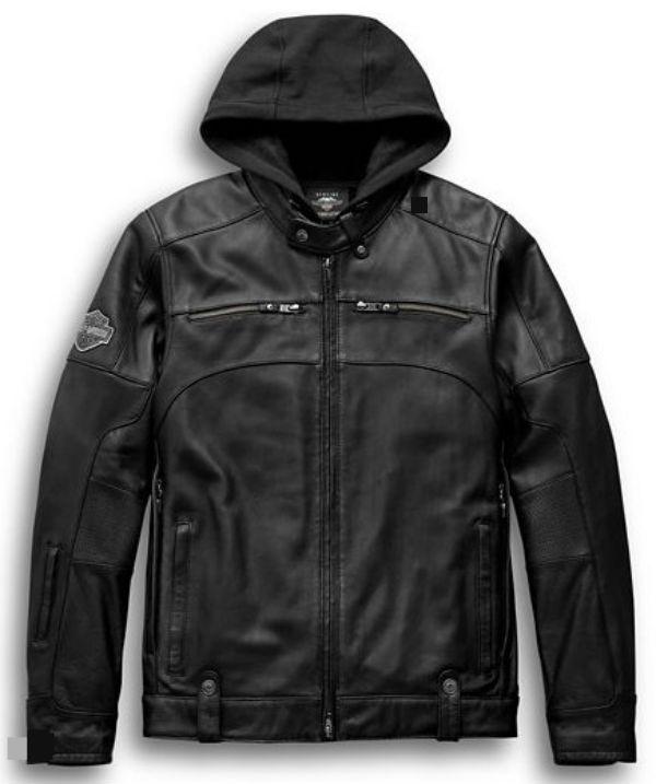 ハーレーダビッドソン Harley Davidson メンズ レザー ジャケットMen's Swingarm 3-in-1 Leather Jacket革ジャン 新作 ハーレー純正 正規品 アメリカ買付 USA直輸入 通販
