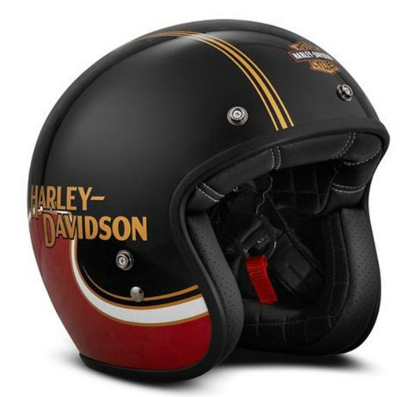 ハーレーダビッドソン Harley DavidsonヘルメットThe Shovel B01 3/4 Helmet レッド/ブラック 新作 ハーレー純正 正規品 アメリカ買付 USA直輸入 通販