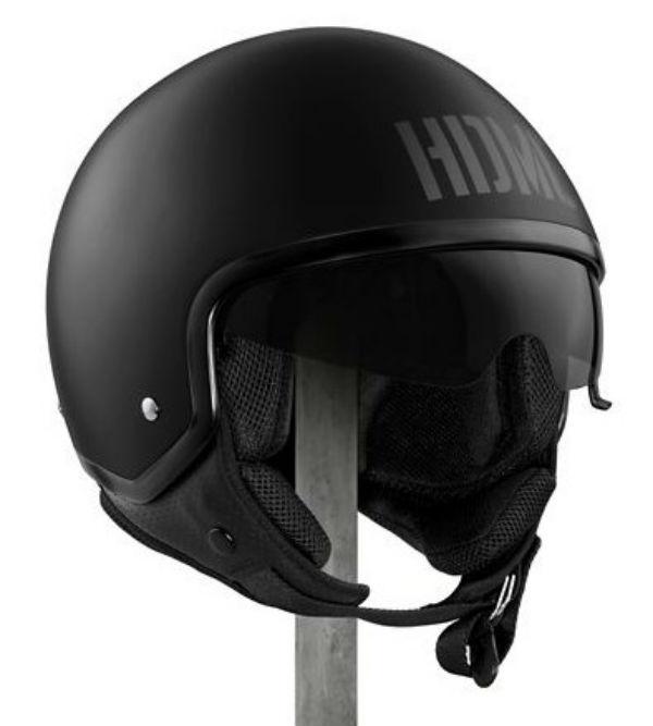 ハーレーダビッドソン Harley DavidsonヘルメットMen's Collins Sun Shield M03 5/8 Helmet マットブラック新作 ハーレー純正 正規品 アメリカ買付 USA直輸入 通販