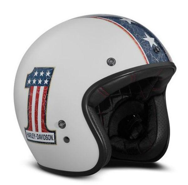ハーレーダビッドソン Harley DavidsonヘルメットRWB #1 B01 3/4 Helmet ホワイト● 新作 ハーレー純正 正規品 アメリカ買付 USA直輸入 通販