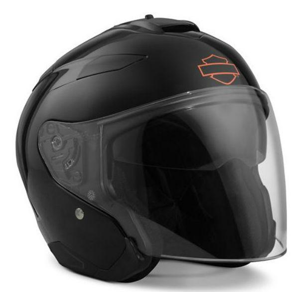 ハーレーダビッドソン Harley DavidsonヘルメットPivot Interchangeable Sun Shield H27 3/4 Helmet ブラックハーレー純正 正規品 アメリカ買付 USA直輸入 通販