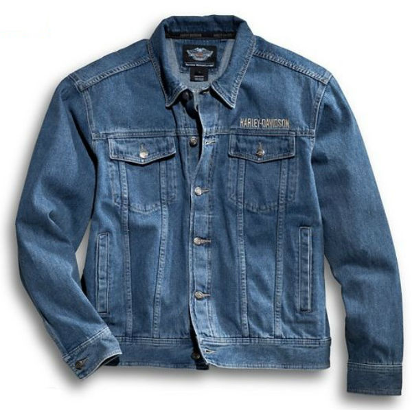 376fced786ff Harley Davidson Harley-Davidson men's denim jacket Harley-Davidson Men's  Bar & Shield ...