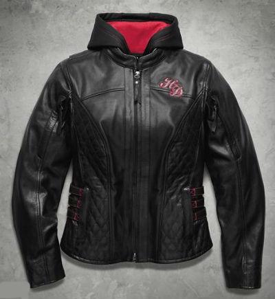 Harley Davidson ハーレーダビッドソン レディース レザー ジャケットWomen's Scroll Skull 3-in-1 Leather Jacket新作 ハーレー純正 正規品 アメリカ買付 USA直輸入 通販