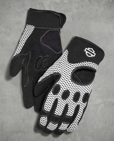 Harley Davidson Harley-Davidson Lady's glove Women's Reveaux Mesh Gloves  Powered by Coolcore Technology new work Harley chastity regular article