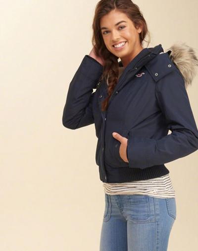 hollister ladies jackets
