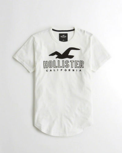 9e9f5374b275 Hollister Hori star men T-shirt Logo Graphic Tee white American casual  American T-shirt HOLLISTER new work genuine article regular article United  States ...