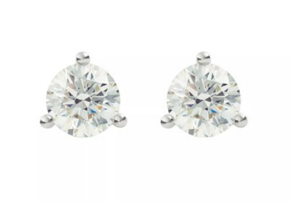 デビアス De Beers ジュエリー ライトボックス LightboxSolitaire Lab-Grown Diamond Stud Earrings ホワイトラブダイヤモンド(約0.50ct)CVDダイヤモンド 合成ダイヤモンド ラボダイヤモンド アメリカ買付 USA直輸入