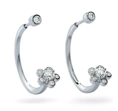 ディアマ DIAMAブルーム イヤリング BLOOM EARRINGS (0.50ct tw)SWAROVSKI スワロフスキークリエイティブダイヤモンド使用