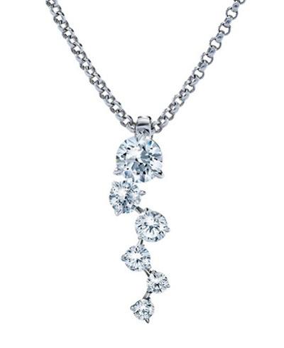 ディアマ DIAMAシグネチャー ネックレス SIGNATURE NECKLACE (0.59ct tw)SWAROVSKI スワロフスキークリエイティブダイヤモンド使用