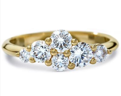 ディアマ DIAMAグラッシャル リング GLACIAL RING (0.91ct tw)SWAROVSKI スワロフスキークリエイティブダイヤモンド使用