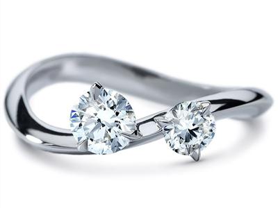 ディアマ DIAMAインティメート リング INTIMATE RING (0.72ct tw)SWAROVSKI スワロフスキークリエイティブダイヤモンド使用