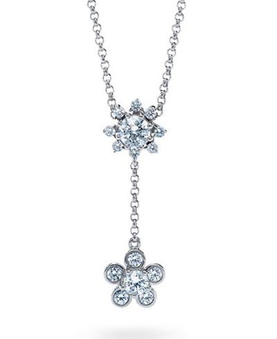 ディアマ DIAMAブルーム ネックレス BLOOM NECKLACE (0.67ct tw)SWAROVSKI スワロフスキークリエイティブダイヤモンド使用