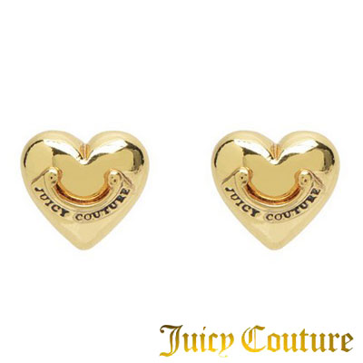 Juicy Couture Juicy Couture earrings PUFFED HEART STUD EARRING (Gold)  arrowhead heart earrings (gold) new Japan – United States purchase USA  import store 72a6caca9