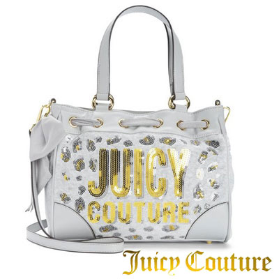 69e73232e1 Juicy Couture Juicy Couture 2 handbags JUICY LEOPARD VELOUR MINI DAYDREAMER  (Silver) Leopard velour mini day dreamer (Silver) women s bag satchel bag  ...