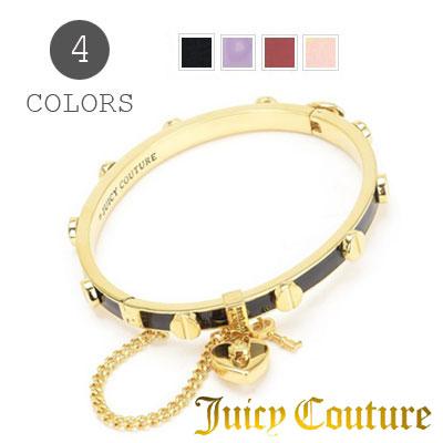 3648b42902b95 유태인 시크 튈 Juicy Couture 팔찌 HEART PADLOCK AND SCREW ENAMEL BANGLE BRACELET  하트파드록크방르(전4색) 기프트 선물 ...