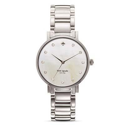 ケイトスペードKateSpade腕時計GRAMERCYGramercyBraceletWatch34mm(StainlessSteel)グラマシーブレスレットウォッチ(ステンレススチール)●日本未入荷正規品アメリカ買付USA直輸入
