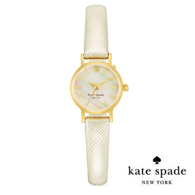 Kate spade Kate Spade watch Tiny Metro Watch, 20 mm tiny Metro Watch (gold)  new genuine American purchase USA imports