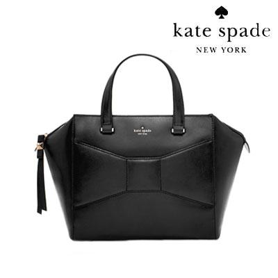 ケイトスペード Kate Spade ハンドバッグ PXRU46152 Park Avenue Small Beau (BLACK) 2パークアベニュー スモール ボウバッグ(ブラック)★ 正規品 アメリカ買付 USA直輸入