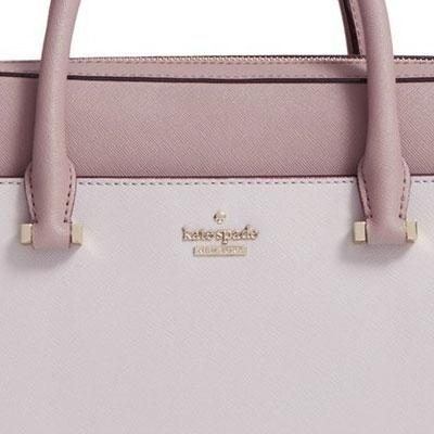 0d35f46d0d14 Kate spade PC case   bag Kate Spade 8aru1441 13 inch saffiano bag saffiano  leather laptop bag 13 Inch (nouveau neutral porcini light shale) saffiano  leather ...