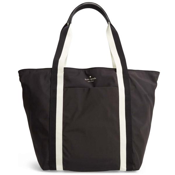 Kate Spade Tote Bag Pxrua105 That S The Spirit Black Nylon Large Regular Article United States Ing Lady