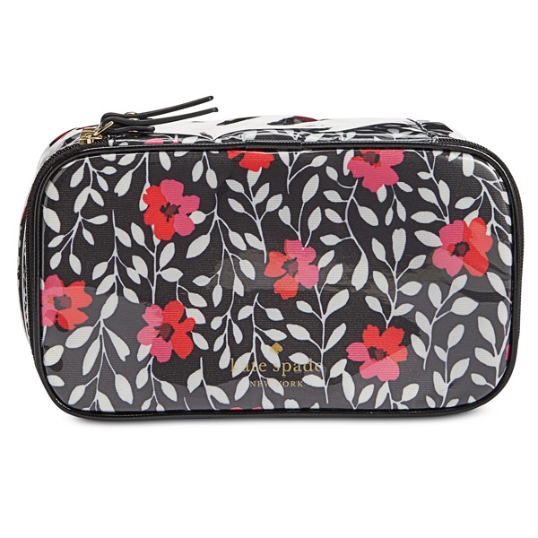 release date b8b12 aad59 Kate spade makeup porch Kate Spade pwru7062 small cosmetic case (black  multi) floral Small cosmetics porch (black multi-) new work regular article  ...