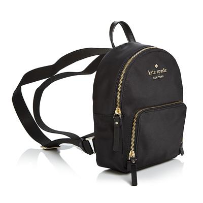 1c0310685565 Kate spade backpack Kate Spade pxru8774 watson lane small hartley (Black)  Small nylon backpack (black) Watson Lane Small Hartley Nylon Backpack new  work ...