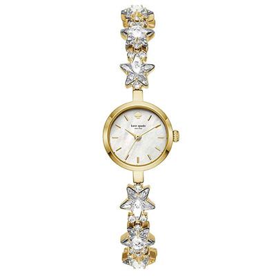ケイトスペード 腕時計 Kate Spade KSW1391Crystal Star Bracelet Watch, 21mm (Gold/Clear) クリスタル スター ブレスレット ウォッチ 時計 (ゴールド) ★ 新作 正規品 アメリカ買付 レディース ジュエリー ギフト プレゼント 星