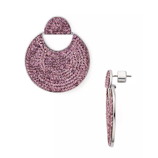 ケイトスペード ピアス Kate Spade Mod Scallop Pave Drop Earrings (Pink) スキャロップ パヴェ ドロップ ピアス (ピンク) 新作 正規品 アメリカ買付 レディース ジュエリー アクセサリー ギフト プレゼント