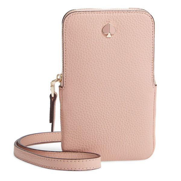 the best attitude ef092 d1d7d At Kate spade iPhone case / bag 8ARU6203 Kate Spade Polly Pebble Leather  Phone Crossbody (Flapper Pink) eyephone case Polly phone crossbody (pink)  new ...
