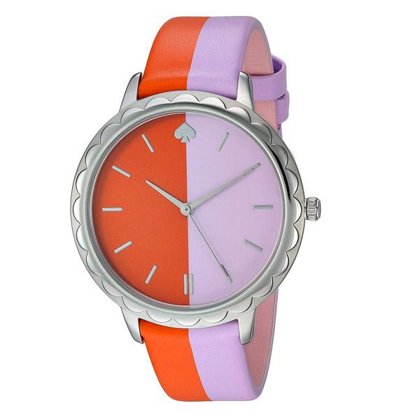 ケイトスペード 腕時計 Kate Spade ksw1532morningside scallop bicolor leather watch (CORAL MULTI) スキャロップ レザーストラップ ウォッチ 時計 (コーラルマルチ) morningside scallop leather strap watch, 38mm 新作 正規品 アメリカ買付 レディース