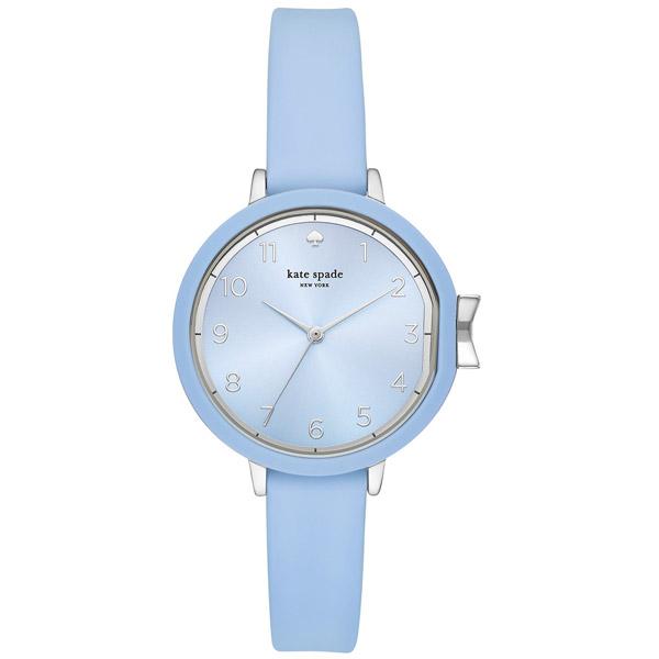 ケイトスペード 腕時計 Kate Spade KSW1445Park Row Blue Silicone Strap Watch 34mm (Blue) シリコン ストラップ ウォッチ 時計 (ブルー) ★ 新作 正規品 アメリカ買付 レディース ジュエリー ギフト プレゼント アクセサリー