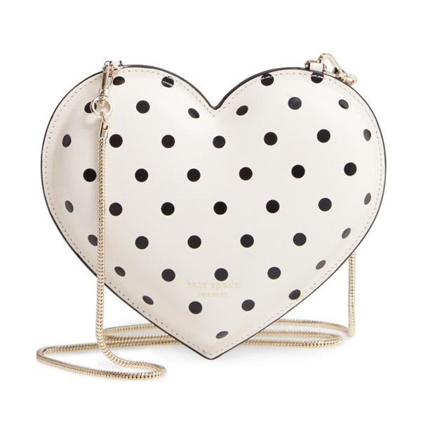 ケイトスペード クロスボディバッグ Kate Spade pxrub243 3d cabana dot heart crossbody (PARCHMENT) 3D ドット ハート クロスボディ (パーチメント) 新作 正規品 アメリカ買付 レディース バッグ ショルダーバッグ ミニバッグ クラッチバッグ 水玉