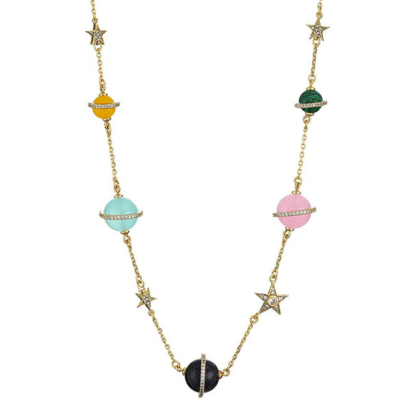 ケイトスペード ネックレス Kate Spade Stone & Star Beaded Necklace, 15