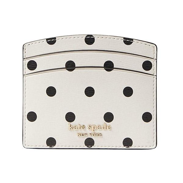 ケイトスペード カードケース Kate Spade pwru7927 Spencer Cabana Dot Cardholder (Optic White/Multi) カバナ ドット カードホルダー(オプティックホワイト/マルチ)