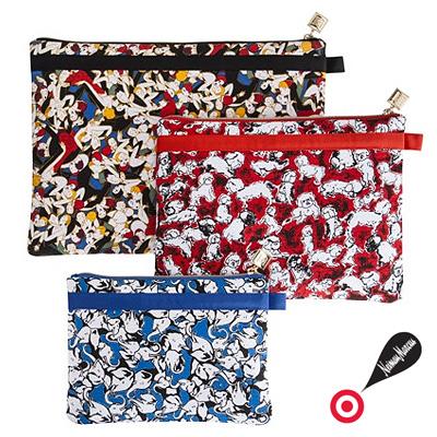 Carolina Herrera Travel Cosmetic Bag Set Of 3 Three Bags New Genuine American Purchase Usa Imports
