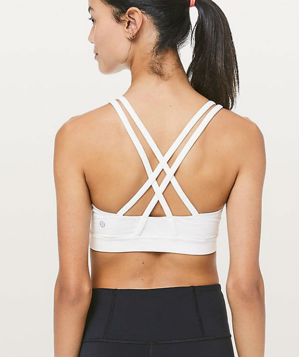 8e42070b36 Lulu lemon Lady s sports bra Energy Bra white system Lululemon Lulu lemon  new work genuine article regular article United States buying USA direct  import