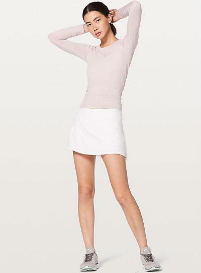 ルルレモン レディース ショートパンツPace Rival Skirt(Regular) 4-Way Stretch 13